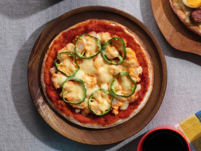 明太ポテトピザ