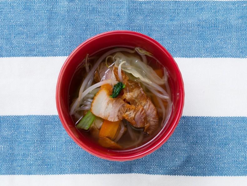 バラ豚焼スープ
