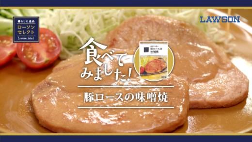 単品CM豚の味噌焼ブログ用サムネイル