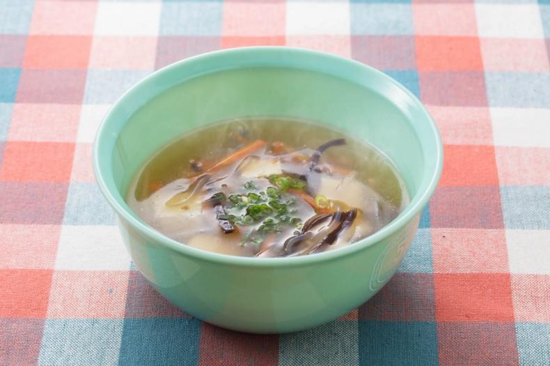 さっぱり春雨のとろみスープ