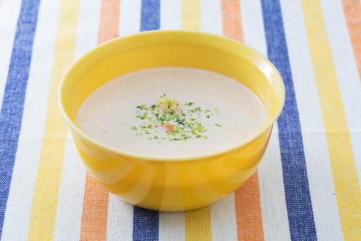 ポテサラミルクスープ